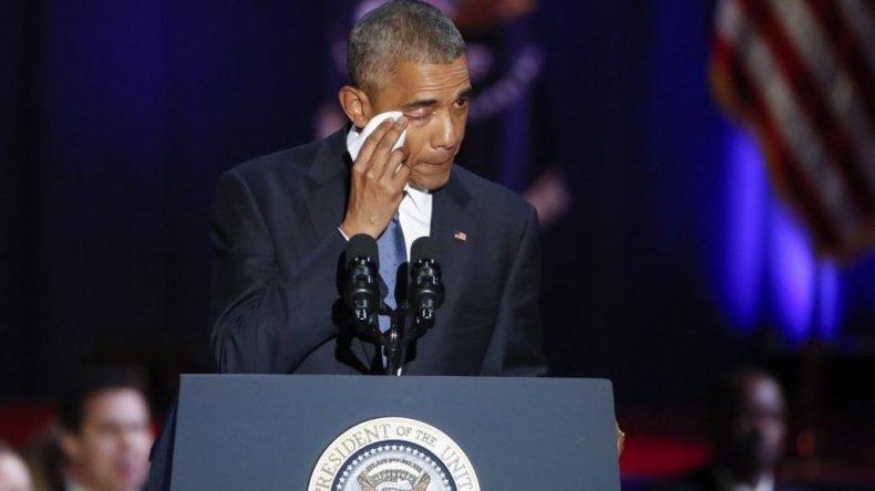 Ustedes fueron el cambio, dijo Obama  en su último discurso como presidente