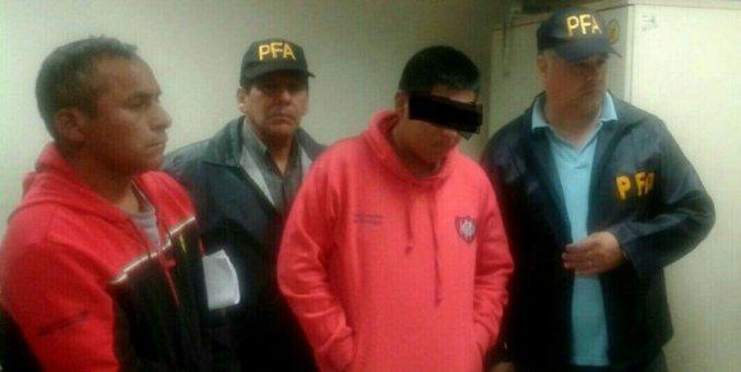 Liberaron acusado de la muerte de Brian y lo mandan a Perú