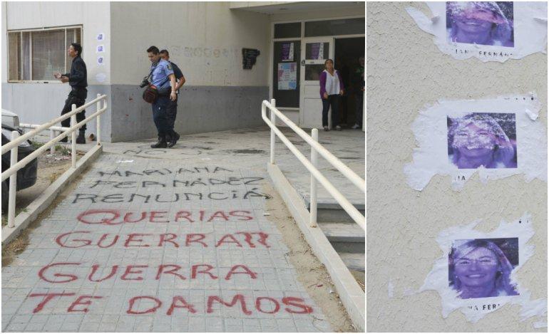Das Neves repudió las amenazas a la doctora Fernández: es violencia de género