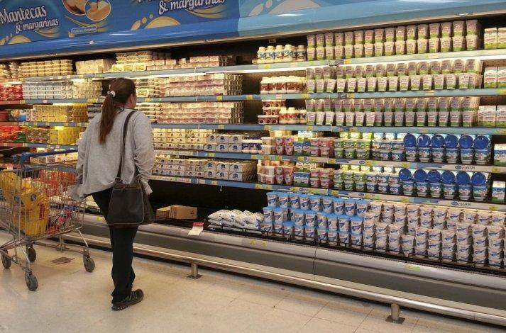 Los alimentos registraron una suba promedio del 1
