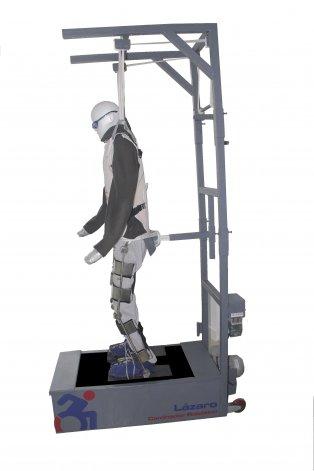 Dos científicos argentinos desarrollaron un rehabilitador robótico para discapacitados