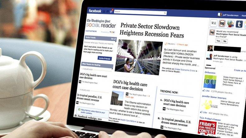 Facebook lanzó su proyecto vinculado con el periodismo