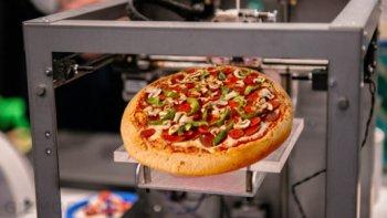 llegan las impresoras 3d que imprimen alimentos