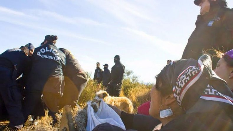 Esperan que hoy liberen a los siete detenidos de la comunidad mapuche