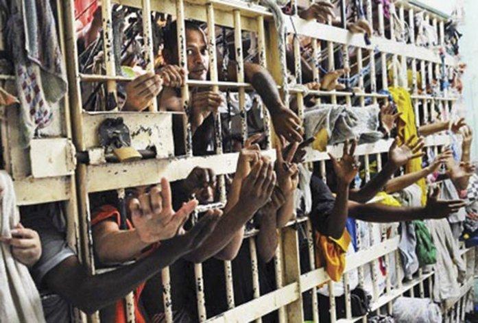 La superpoblación que sufren las cárceles brasileñas.