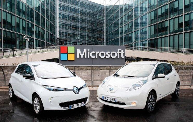 Microsoft presentó su plataforma para autos conectados