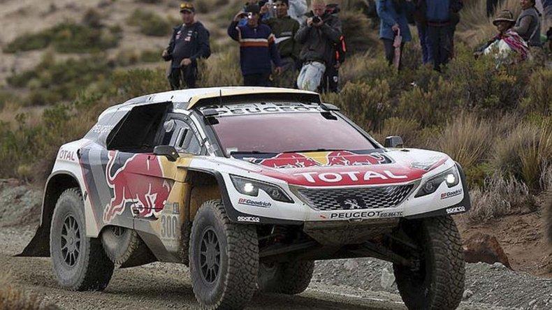 Stephan Peterhansel está a un paso de lograr un nuevo título en el Dakar.