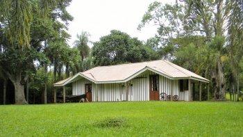 la casa de quiroga en san ignacio, misiones