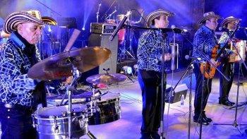 El legendario Cuarteto Imperial deleitó al público con un amplio repertorio de sus tradicionales cumbias.