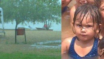 encontraron el cuerpo de la nena de 2 anos que desaparecio en un balneario