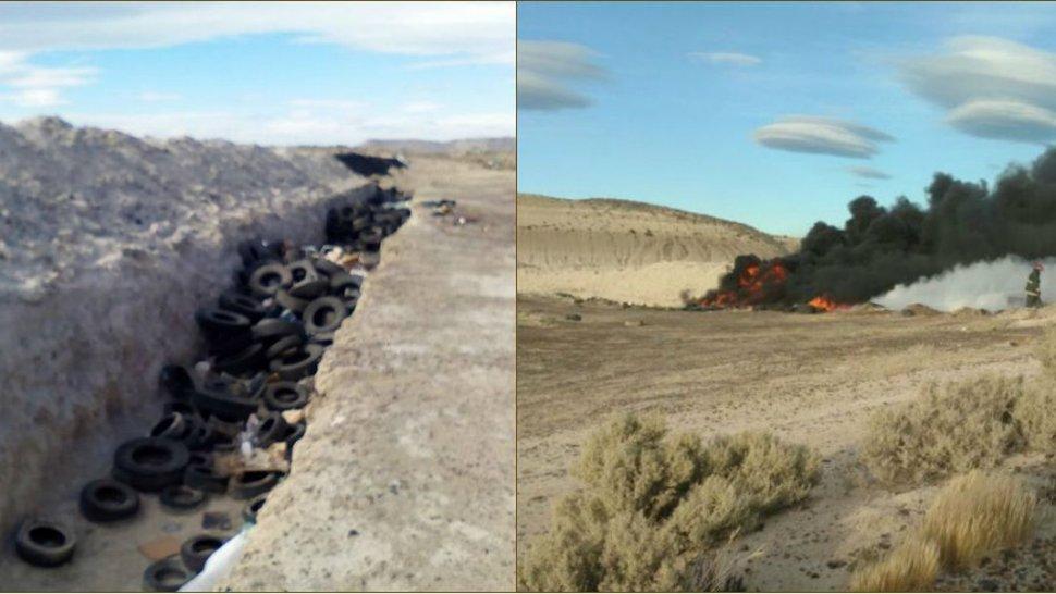 Cerrarán la cava de cubiertas en Km 17 tras varios incendios