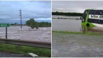 dramaticas imagenes de las inundaciones en santa fe