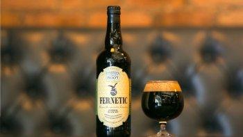 branca aclara que la cerveza a base de fernet no tiene fines comerciales