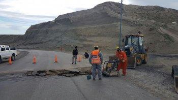 repararon el camino centenario