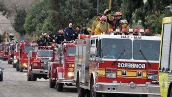 reclaman a la federacion de bomberos que rinda cuentas