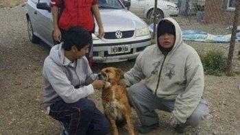 La primera campaña de vacunación de mascotas lanzada por el Centro de Zoonosis de Las Heras se realizó el fin de semana en el barrio Calafate.