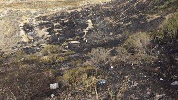 Los descampados de Zona Norte son castigados por el fuego desde principios de año.
