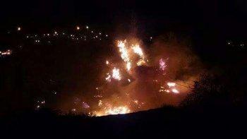 otro incendio en menos de 24 horas: la teoria del piromano mas firme