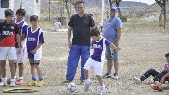 En la cancha del club Manantiales Behr de Ciudadela hubo acción por los Juegos de Verano.