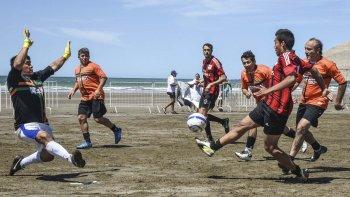 Un nuevo torneo playero de fútbol 7 se disputará entre el 28 y el 29 de enero.