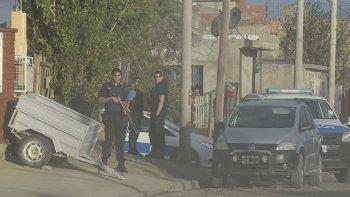 En el domicilio de la calle Jaime Dávalos ayer se detuvo al sospechoso Mariano Figueroa.
