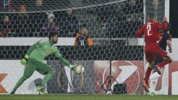 Sergio Romero no es tenido en cuenta como titular en Manchester United.