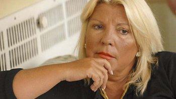 Elisa Carrió debe ratificar el martes su denuncia.