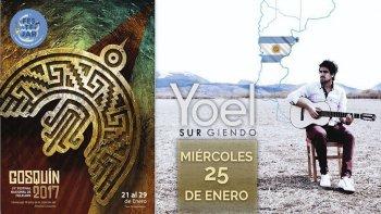 El cantautor chubutense, Yoel Hernández, se presentará por primera vez en el Festival de Cosquín. Será el miércoles 25 de este mes.