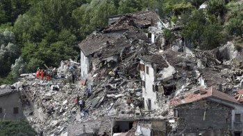 Los daños provocados por los terremotos en el centro de Italia.
