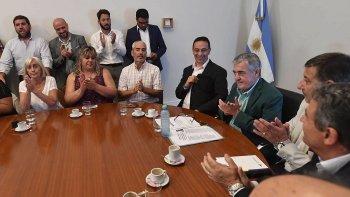 En conferencia de prensa, Mario Das Neves detalló los alcances de las reuniones en Buenos Aires y adelantó una posible firma por la devolución de deuda.