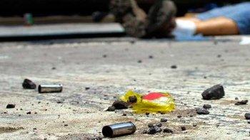 un prestamista fue asesinado de dos tiros