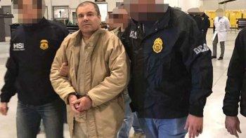 chapo guzman fue extraditado y llego a estados unidos