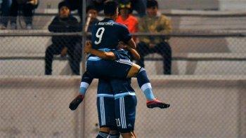 con un agonico gol, argentina empato con uruguay