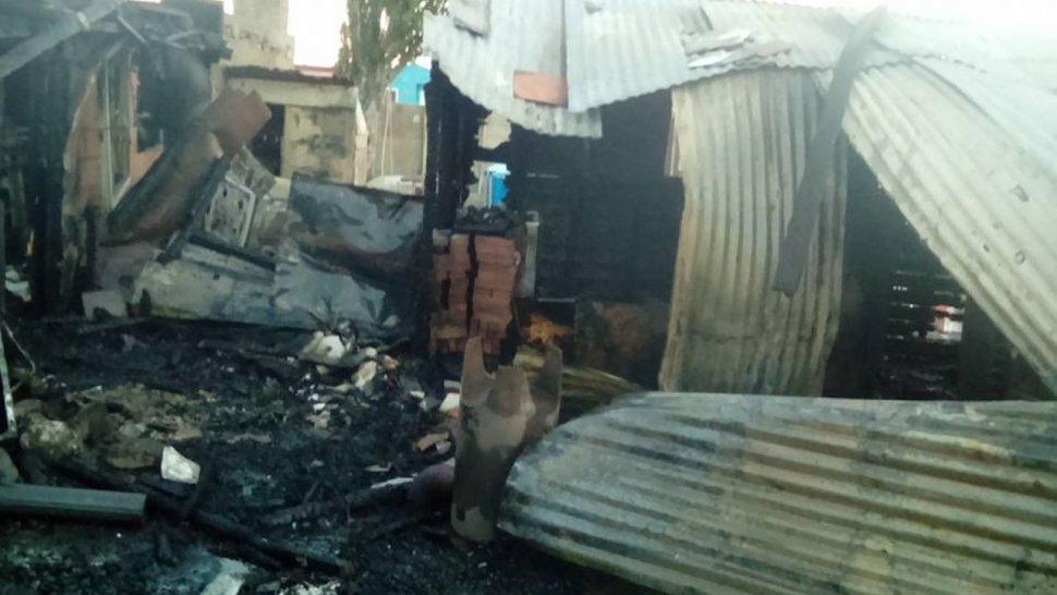 Un incendio se cobró la vida de dos niños