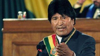 Chile nos roba y nos demanda. Quiero decir con mucho respeto que esa demanda será en vano: Bolivia va a recuperar sus aguas del Silala, manifestó Evo Morales.