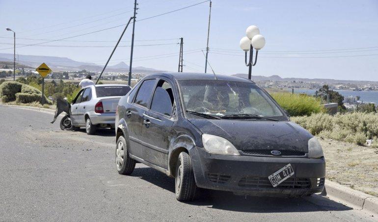 Kilómetro 3: un conductor presuntamente ebrio protagonizó un choque