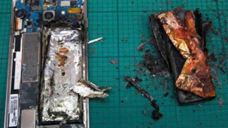 Atribuyen  a un cortocircuito en la batería el incendio de los Galaxy Note 7
