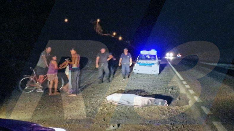 Atropelló y mató a un peatón que caminaba por Ruta 3
