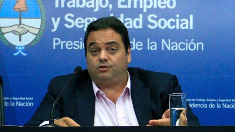 Para Triaca lo gremios buscarán acuerdos del 18% anual
