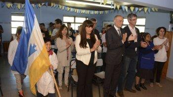El ministro provincial de Educación, Gustavo Castán, inauguró ayer el ciclo lectivo para las escuelas rurales.