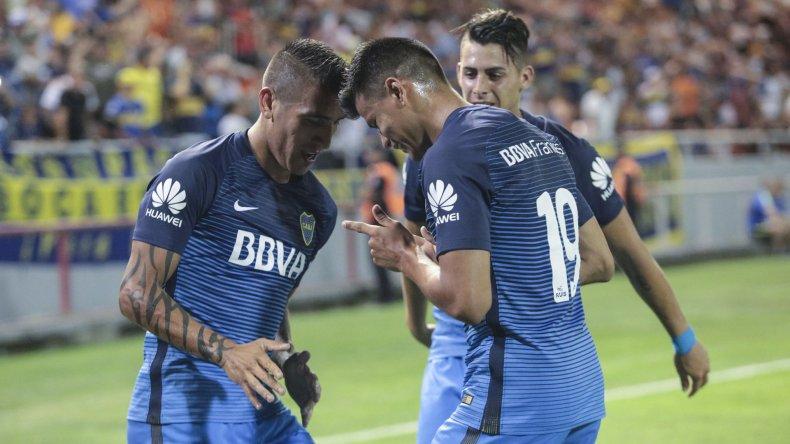 Boca viene de vencer 2-0 a Estudiantes de La Plata.