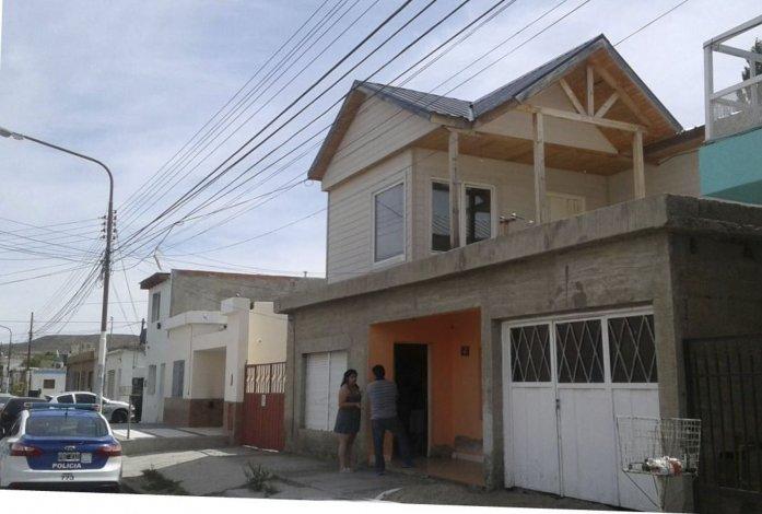 Frente de la vivienda ubicada en la calle Juan José Paso del barrio San Martin