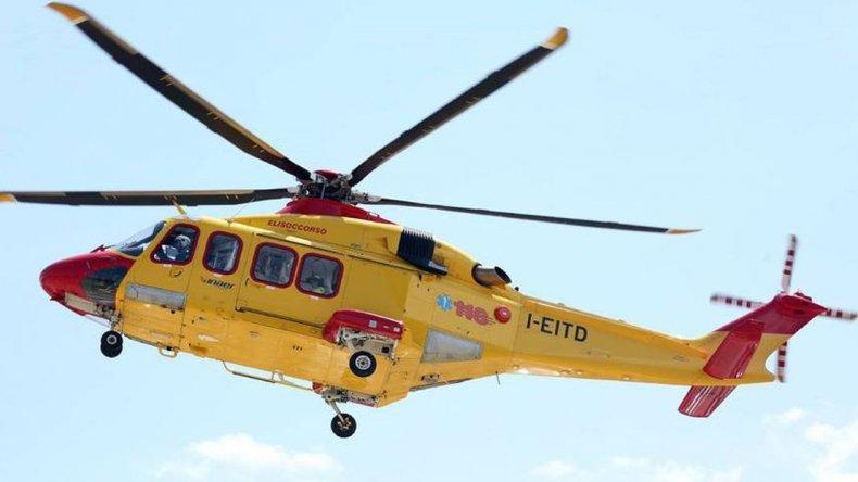 Se estrelló helicóptero con rescatistas: no se sabe si hay sobrevivientes