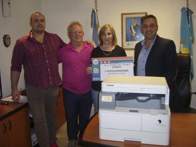 El presidente del Instituto de Asistencia Social (IAS) Lotería del Chubut