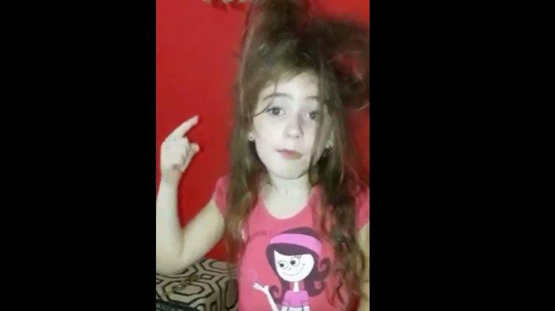 Una nena pide que se vaya Macri y vuelva Cristina