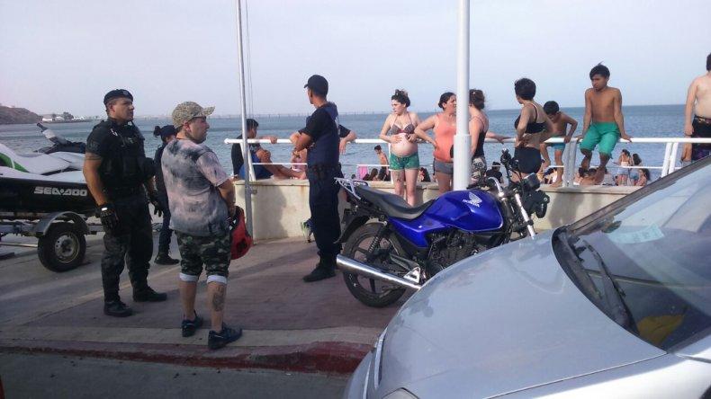 Vio su moto robada en la costanera e hizo denuncia