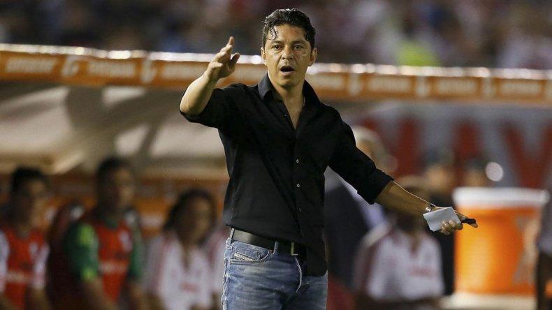 Marcelo Gallardo tiene prácticamente todo listo para el Superclásico que se jugará mañana en Mar del Plata.