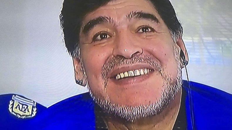 Diego Armando Maradona no se calló nada y habló de todo.