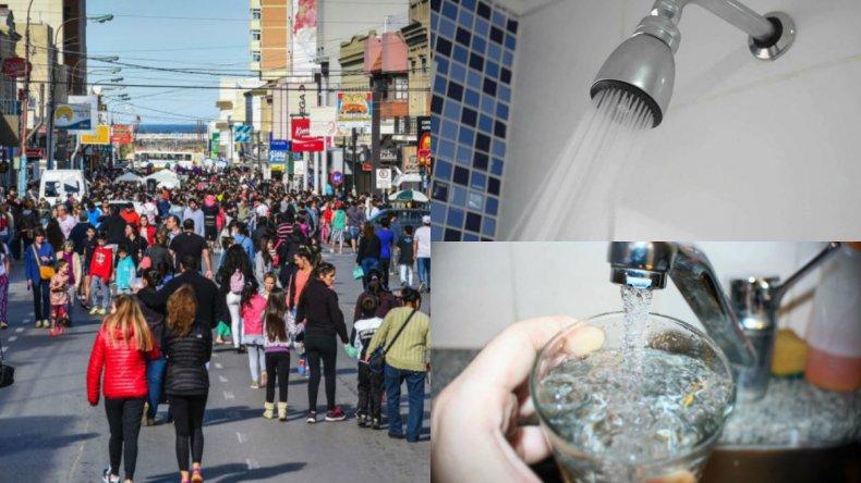 Aumentó el consumo de agua porque mucha gente no salió de vacaciones