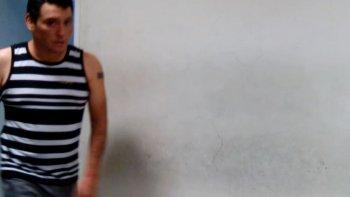 Nelson Aguilante, imputado por el homicidio de Débora Martínez, quien fue encontrada muerta esta madrugada en Próspero Palazzo.